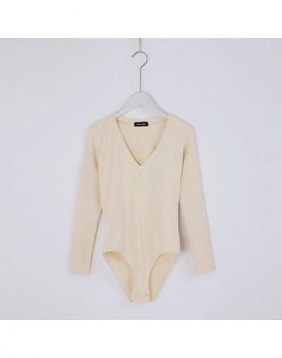 Woman Blouses Fashion Sweatshirt Women Streetwear 7 Colors O Neck Frill Trim Long Sleeve Bodysuit - Color 5 - 4U3932861128-5