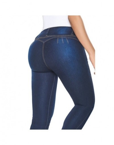 MIND FEET High Waist Women Jeans Push Up Skinny Bodycon Stretch Sexy Zippers Fly Butt Lift Denim Pants Ladies Trousers Jeans...