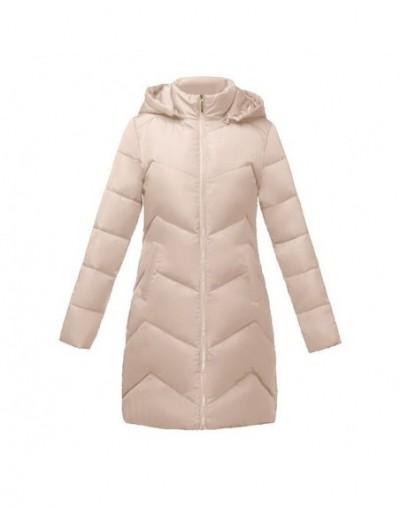 Winter Jacket Women New 2019 Fashion Women Down jacket Long Hooded Jacket Students Slim Coat Winter Thick Warm Cotton Outwea...