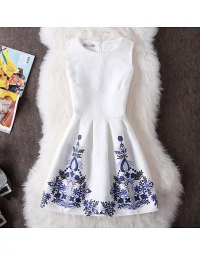 New Vestidos De Festa Women Summer Print Dress Vintage Casual Sexy Party Vestidos Slim Plus Size Ladies Vest Dress Clothing ...