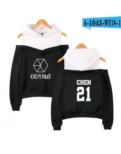 2018 new Kpop EXO LU HAN SE HUN KAI EXO OVERDOSE Hoodies women Harajuku Fashion Sweatshirts Casual Girl Sexy Pullovers Tops ...