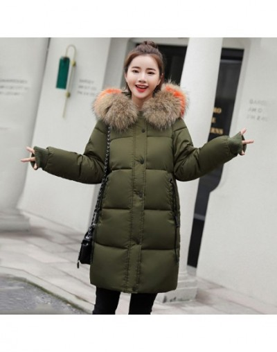2019 New Arrival Winter Jacket Women Warm Thicken Outwear For Womens Winter Jackets Long Hooded Female Coat Long Parka Coats...