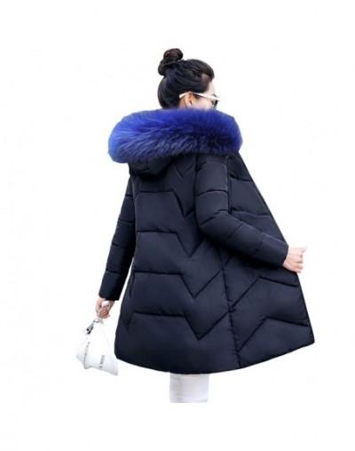 Winter Jacket Women New 2019 Winter Warm Down Jacket female Long Parkas Artificial Fur Collar Big Size 6XL Women Winter Coat...
