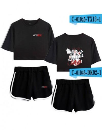 TV series Money Heist La Casa de Papel House of Paper print Leisure Women Two Piece Set Shorts+lovely T-shirts Hot Sale Clot...