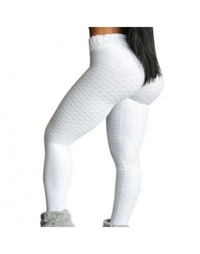 Fitness Women Leggings Push up Women High Waist Pocket Workout Leggins 2019 Fashion Casual Leggings Mujer Long Pants - white...