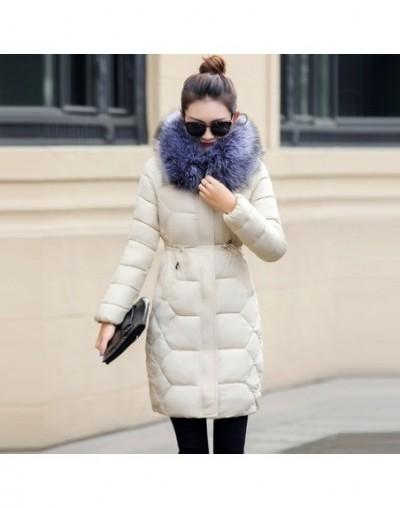 Winter Jacket Women 2019 European design Thicken Parka Women's Down Jacket Fake hair collar Winter warm Coat Female Clothing...