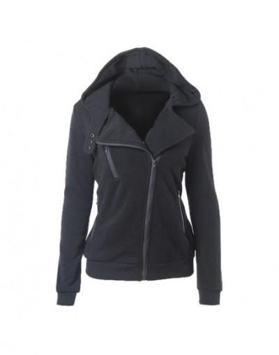 Fashion Hoodies Sweatshirts Women Long Sleeve Hoodies Jackets Zipper Hoody Jumper Overcoat Outwear Harajuku Female Sweatshir...