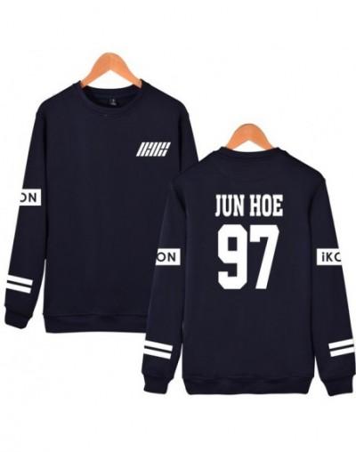 Kpop Ikon Women Hoodies Sweatshirts Fans Supportive IKON Album Oversized Hoodie Harajuku Casual Pullovers Tracksuit - Navy ...