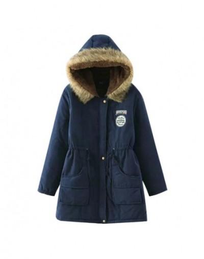 Women Winter Parkas Female Coat Thickening Fashion Womens Outwear Parkas for Women Cotton Winter Jacket Winter - color 11 - ...
