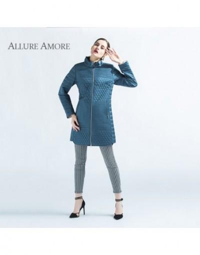 Long Spring Coats Women Jacket Coat Warm Quilted Women's Parka clothes Woman New Female Designer Parkas Autumn AllureAmore20...