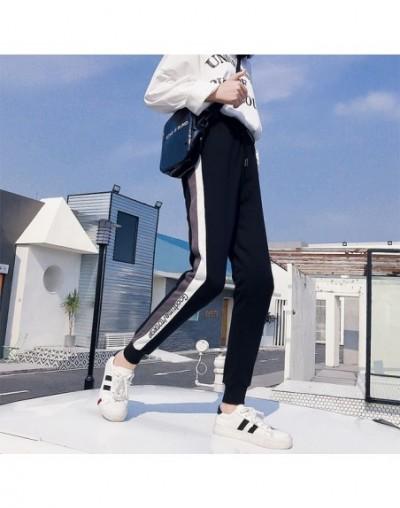 Joggers Striped loose harem Pants Women 2019 Spring Autumn Casual Sweatpants Female Casual Pants Long Trousers Streetwear M-...