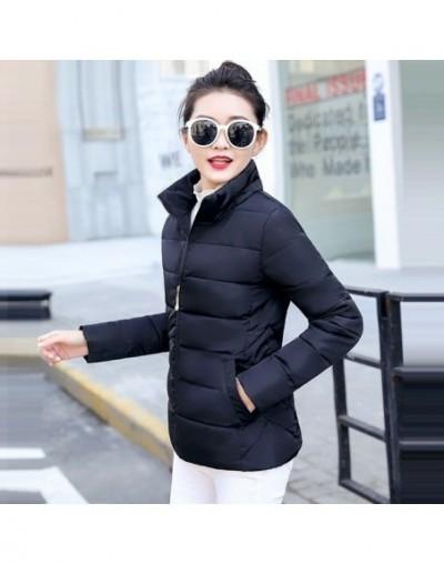Plus size 5XL Down jackets 2019 Fashion Women Winter Coat Slim Thicken Warm Jacket Down Cotton Padded Jacket Outwear Parkas ...