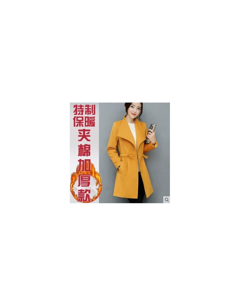 Cheap wholesale 2017 new Autumn Winter Hot selling women's fashion casual warm jacket female bisic coats A154-170919Z - 2 - ...