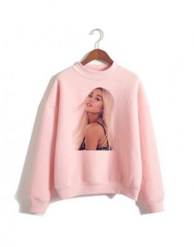 Ariana Grande Sweatshirt No Tears Left To Cry Hoodie Women Cartoon Print Harajuku God Is A Woman Sweatshirts Pullover Warm T...