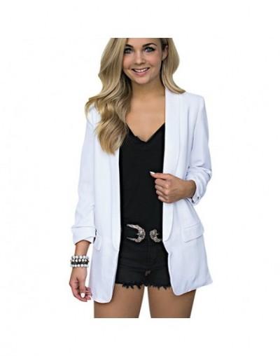 Woman Autumn Chiffon Blazer Suit Jacket Fashion Long Sleeve Loose Casual Solid Coat Office Lady Blazers Workwear Plus Size 5...