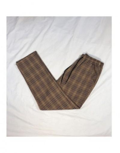 Women Streetwear Plaid Pants 2019 Harajuku High Waist Joggers Korean Style Sweatpants Ladies Autumn Trousers Plus Size - W3 ...