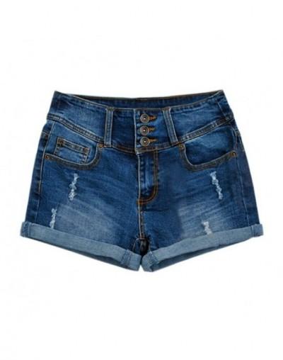 Denim Shorts Women Loose 2018 Fashion Elastic High Waist Denim Shorts for Women Plus Size Jeans Short Sexy Casual shorts - B...