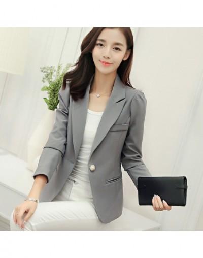 NEW Women Basic Coats Candy Colors Small Suit Jacket Female Blazer Feminino Long Sleeve Spring Women Jackets Casual Blazer C...