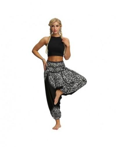 New Folk Pants Wide Leg Harem Pants Women Loose Trousers Baggy Boho Joggers High waist Sportswear - 7 - 4V4126948083-7
