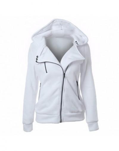 Women Sweatshirt Hoodies Red White Fashion Moletom Feminino Punk Hoody Casual Outerwear Tops Vintage Jacket Clothing Female ...