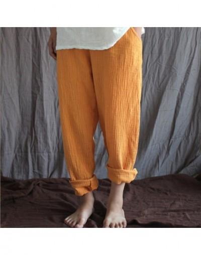 plus size Trousers women harem pants femininas 2019 large size cotton linen pants soft comfortable pants M-5XL 6XL BLACK WHI...