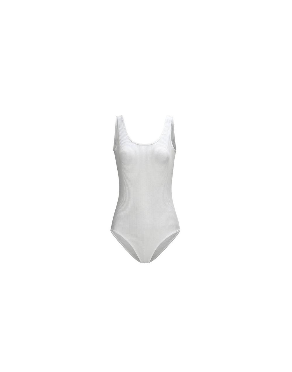 2019 New Fashion Black Bodysuit Women Elegant Sexy Body Spaghetti Strap Bodycon Jumpsuit Romper 2019 Summer Short - White - ...