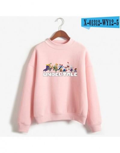 Undertale Sans High Neck Sweatshirt pattern Printed Women Casual Clothes 2019 Autumn Women Plus Size Clothing Female Pullove...