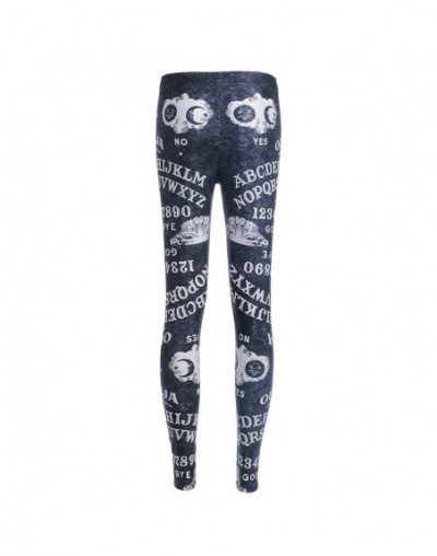 New 2018 Newspaper Daily Prophet Print Fitness Workout Push Up Women Leggings Slim Sexy Girl Hot Pants Plus Size - 3715 - 44...