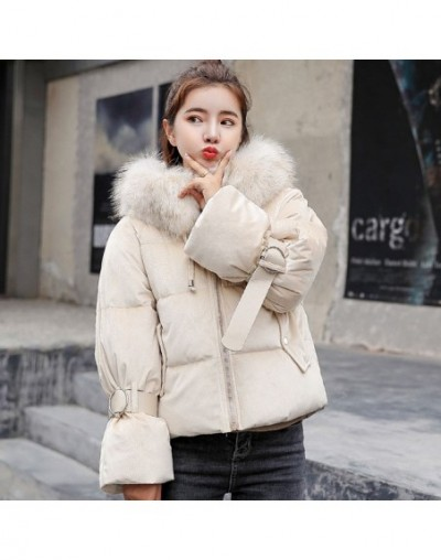 New Arrival Womens Winter Jackets Hooded With Fur Cotton Padded Winter Jacket Women Fashion 2019 Coat Parka Casaco Feminino ...