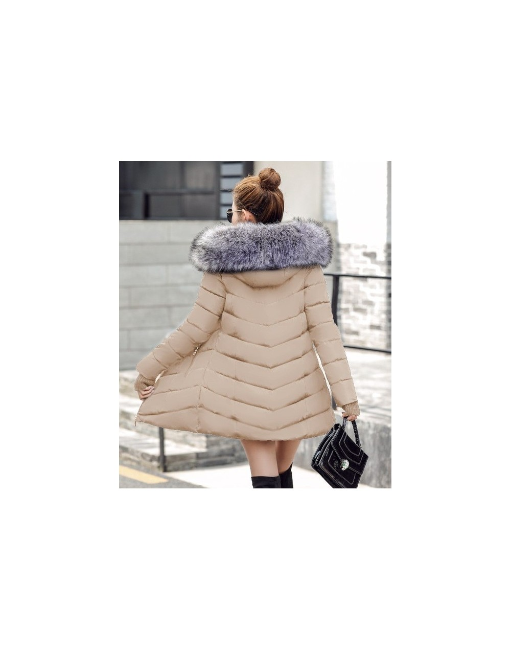 Womens Winter Jackets And Coats 2019 Thick Warm Hooded Cotton Padded Parkas For Women's Winter Jacket Female Manteau Femme -...