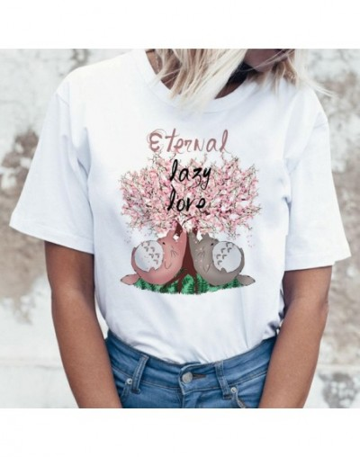 Totoro T Shirt Women Top Tee Shirts T-shirt Tshirt Korean Style Kawaii 80s 90s Graphic Harajuku Female Ulzzang Casual Korean...