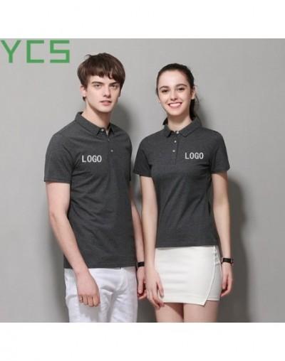 Polo Shirt Women /polo shirt men Cotton100% Short Sleeve Advertising diy Custom Logo Polo Shirt Printing Casual Polos - Yell...