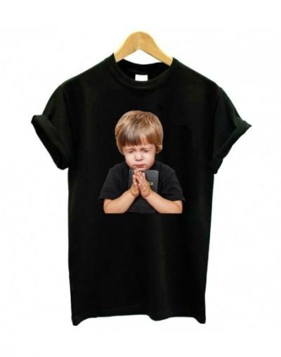 prayer boy Print Women tshirt Cotton Casual Funny t shirt Lady Yong Girl Top Tee Better Quality Drop Ship KT-30 - Black - 4J...