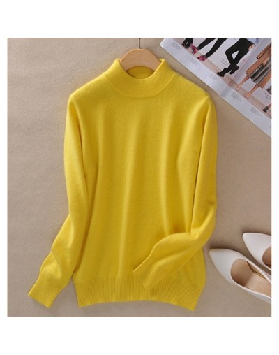 Womens Sweaters Ladies Pink Sweater For Women Red Cashmere Woman Jumper Knitted Winter Cashmere Sweater Female Women Jumper ...