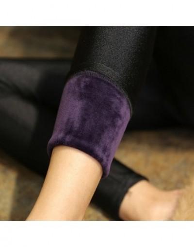 High Quality Winter Warm Women Leggings Plus Thick Velvet Solid Color High Waist Pants Legins Femme Plus Size 5XL Casual Leg...