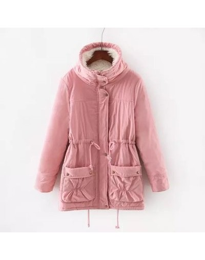 Winter Parkas Jacket Femme Plus Size 3XL Thick Coats Women Jacket Casual Coat Pockets Basic Casual Female Warm Coat Vadim - ...