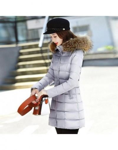 Winter Jacket Women Hooded Coat Fur Collar Thicken Warm Long Winter Women Jacket Female Outerwear Parka Ladies Chaqueta Femi...