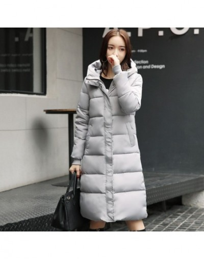 Long warm thicken winter jacket women snow wear cotton padded outerwear for women womens coat plus size 3XL parka high quali...