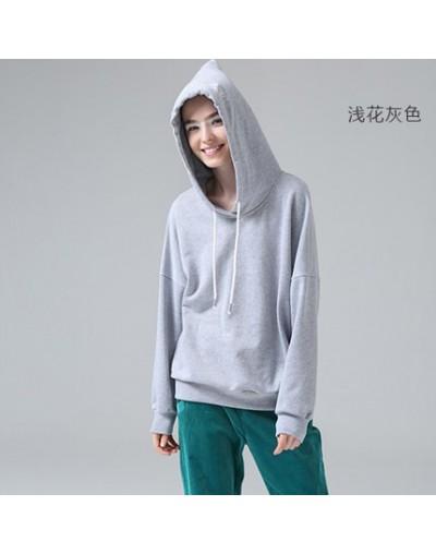 Women Autumn Hooded Sweatshirts Harajuku Embroidery Letter Long Sleeve Hoodies Casual Moletom Feminino Solid Tracksuits - gr...