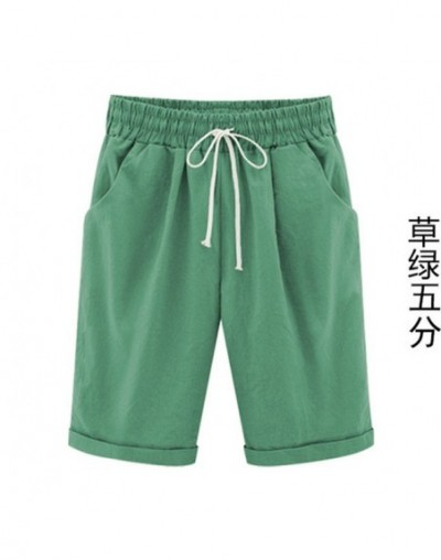 Summer Fashion Shorts Casual Women Five Shorts Thin Outside Wear Large Size Female 200 Pounds Fat MM Loose Trousers MZ2751 -...