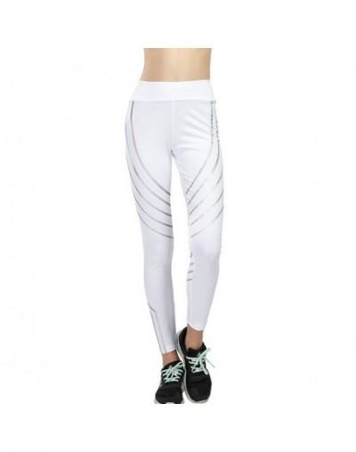 2019 Fashion Fitness Leggings Women Slim High Waist Elasticity Leggings Printing leggins Woman reflective Legging plus size ...