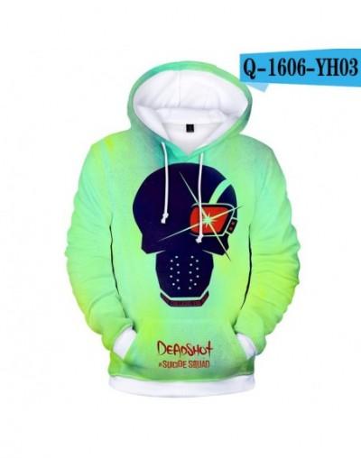 LUCKYFRIDAYF Suicide Squad Hoodies Cool 3D Print Women/Men Warm Popular Long Sleeve Skull Sweatshirts Hoodie Fashion Clothes...