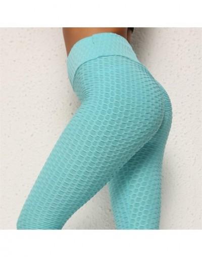 Black White Casual Push Up Purple Bubble Leggings Women Summer Workout Polyester Jeggings Breathable Slim Leggings Women - K...