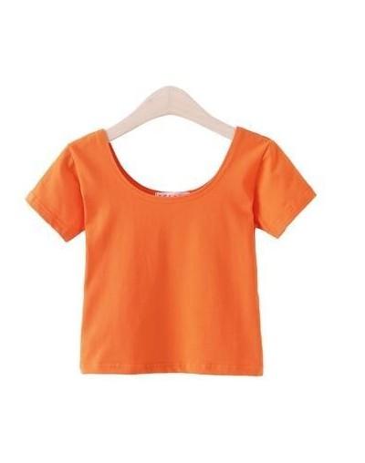 Crop Top Women 2019 Sexy Summer Tops Short Sleeve T Shirt Cotton Women's Tops Casual Short Sleeve Soft T Shirts Female Tees ...