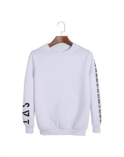 KPOP Korean Fashion SEVENTEEN 2018 JAPAN ARENA SVT Concert O-Neck Cotton Hoodies Pullovers Sweatshirts PT709 - White - 4N397...