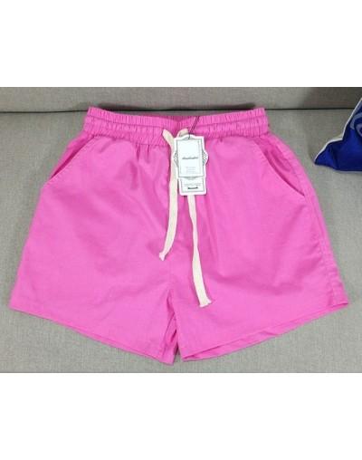 2019 New Fashion Women Slim Sexy High Waist Shortsplus size M-6XL 7XL wide leg shortsbig size cotton linen skirt shorts - Pi...