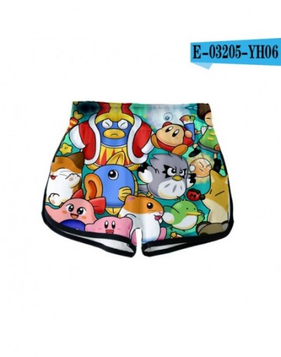 Nostalgia Childhood ACT Game Kirby 2019 New 3D print Summer Women Casual Cute girl Hot Sale Sexy Shorts Clothes - YH06 - 591...