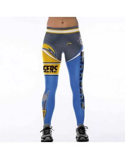 2017 New Plus Size Teams Leggings Women Match Raider Fitness Legging Sporting 3D Print High Elastic No Transparent Pants - S...