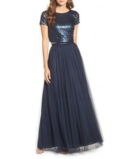 Women 3 Layers Lace Maxi Long Skirt 2018 Tulle Skirt Bridesmaid Ball Skirts Plus Size Women's Skirts Hot sale - 785 - 4S3986...