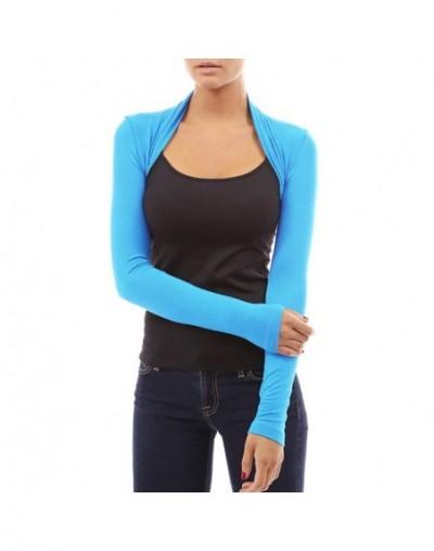 Autumn Women's Shrug Short Cardigan Tops Casual Fashion Long Sleeve Sweaters Stretchy Slim Open Stitch Cardigans Shrugs 2579...